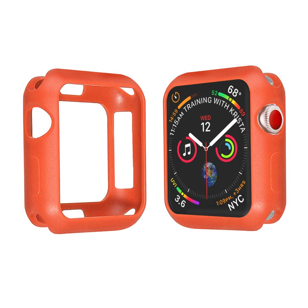 SPGuard Compatible Apple Watch Series 4 (44mm) Case, Ultra-Thin Lightweight and Wear-Resistant Frosted Smartwatch Case(TPU) for Apple Watch Series 4 ...