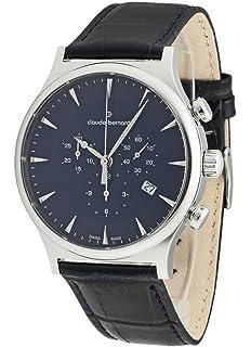 Classic Datum Armbanduhr Claude Chronograph Analog Bernard Herren kiuOPXZ