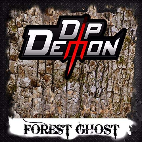 Forest Ghost Realistic Tree Bark Camo Hunting Hydrographic Water Transfer Film Hydro Dipping Dip Demon Wizard Ape ()