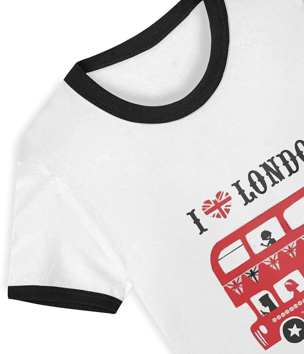 I Love London Tees-Youth Short Sleeve Tee Kids Short T Shirts