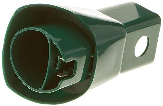 Mister vac A214 Adapter oval mit Stromdurchführung geeignet Vorwerk Kobold 130, 131, 135, 136 Tiger 251, 252, 260