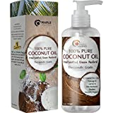 Fractionated Coconut Oil - 100% Pure therapeutic grade Grade - Rich in Fatty Acids & Great Carrier for Essential Oils & Aromatherapy Use By Maple Holistics