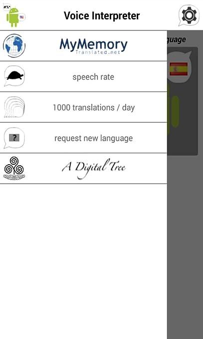 amazon com voice interpreter translator appstore for android