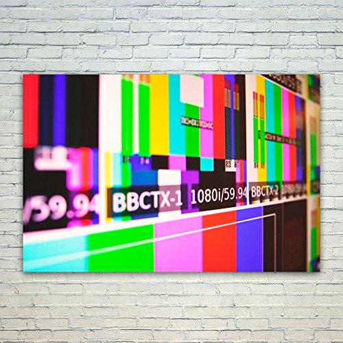 Westlake Art Poster Print Wall Art - Television Purple - Mod