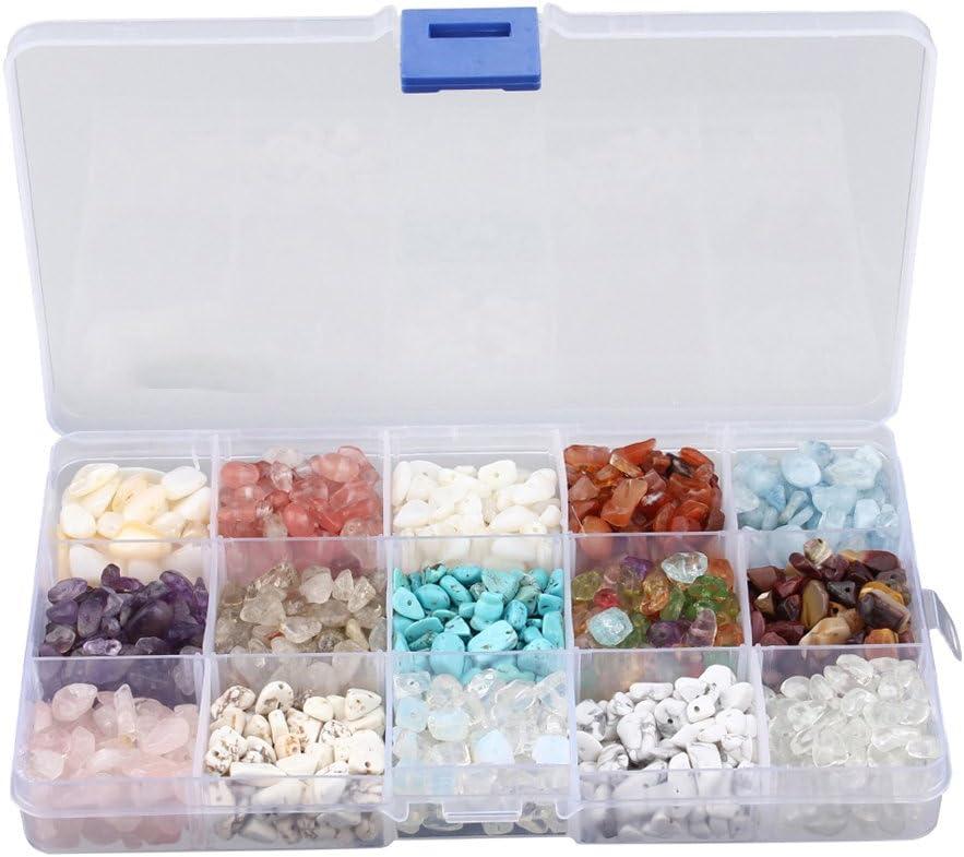15 Tipos De Cuentas De Piedra A Granel Cayeron Piedras Preciosas Perlas Para Joyería