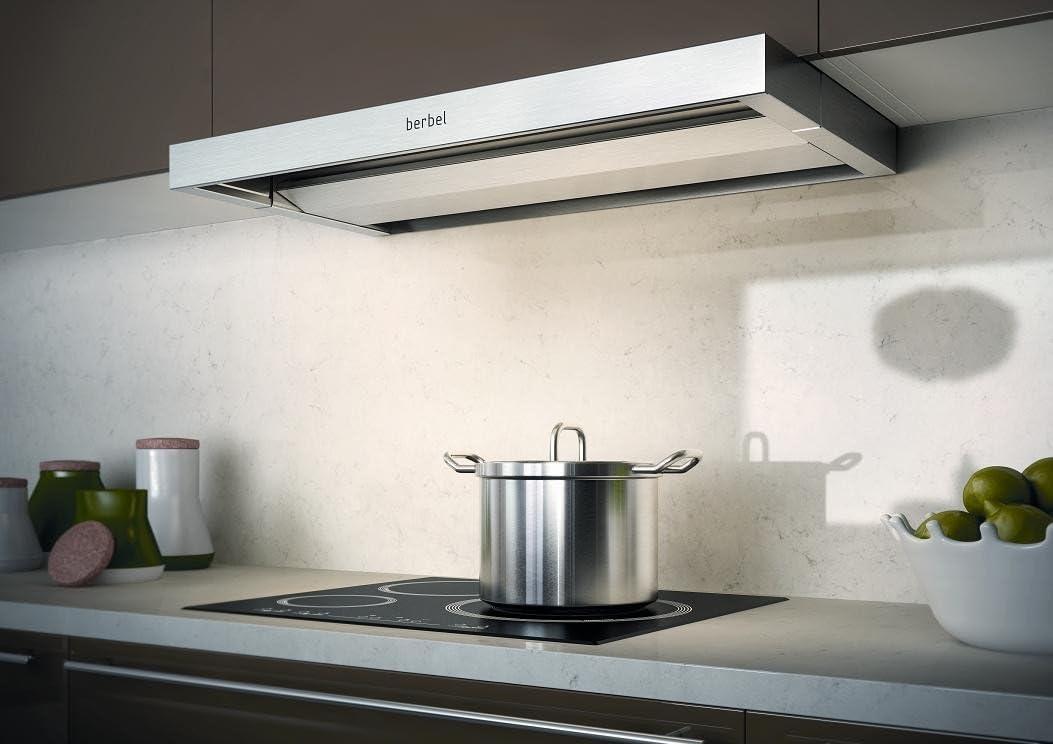 berbel empotrable Lift Campana 90 cm Move Line Bel 90 ml acero inoxidable recirculación Variante: Amazon.es: Grandes electrodomésticos