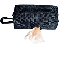 Dog Poop Bags Earth-Friendly 1 Roll Doggie Waste Bags Green Carrier Bags, Portable Dog Poop Waste Bag Holder Pouch Pet…
