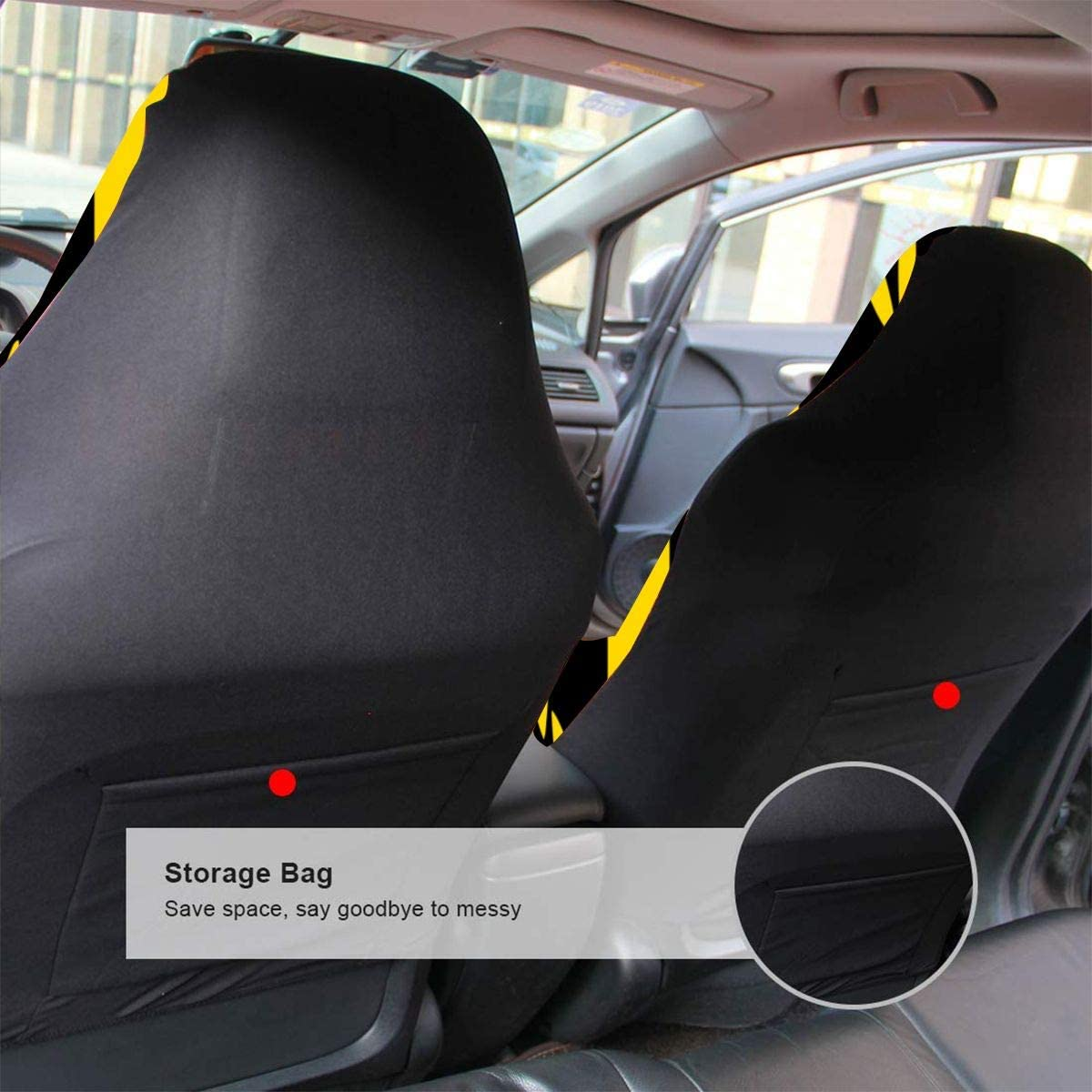 Car Seat Covers Rainbow Six Siege 2 PCS //1 PCS Universal Full Set Car Seat Covers Compatible for Most Cars SUVs Trucks