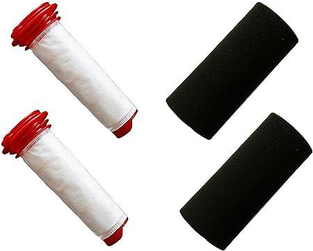 Green Label Empaque de 2 Kit de Filtros para Aspiradora Escoba Bosch Athlet. Reemplaza a 00754175, 00754176: Amazon.es: Hogar