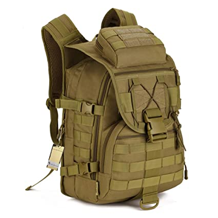 40L Tactical Backpack Assault Pack Waterproof military backpack Bug Out Bag  for Hunting c1fa02a3cc6de