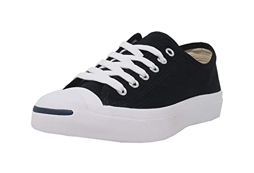 745fd2eb036 Image Unavailable. Image not available for. Color  Converse Jack Purcell  Canvas Black ...