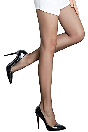 MANZI  16905 Ultra Mince 10 Deniers Collants-Femmes-Sublim Voile Brillant -Leggings b146fc564e0