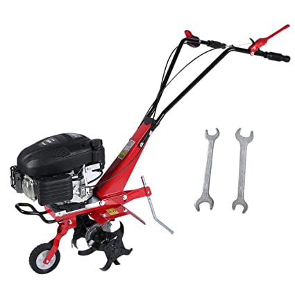 yesper Gasolina gartenfräse azada Motobinadora Cultivador suelo Fresadora quitanieves (139 cc Craft Full Cultivador 4