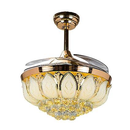 Huston Ventilador, Mordern Estilo Luz LED ventilador de ...