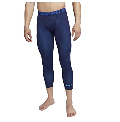 4a1e30a4afaf39 Amazon.com: Nike Men's Colorburst 3/4 Training Tights-Navy-3XLT ...