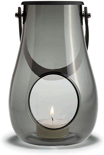 Holmegaard Candle Holder 4x19.9x18.7 transparent