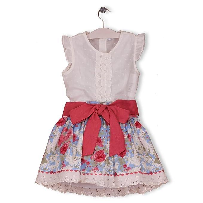Blanca Valiente-Conjunto falda estampado (7A): Amazon.es: Ropa y ...