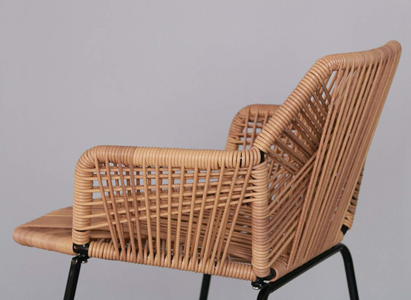 Amazon.com: XINGPING Wicker Chair High Table and Chairs ...