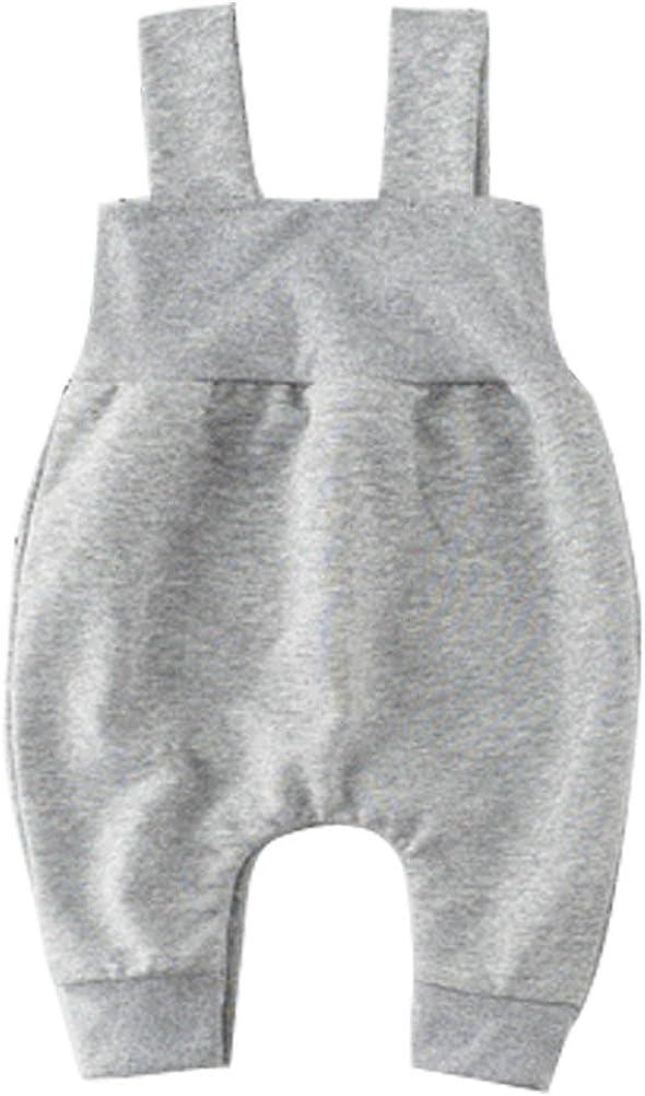 ARAUS Baby Latzhosen Sweat Overall Unisex Cartoon Baumwolle Tr/ägerhose 3-24 Monate