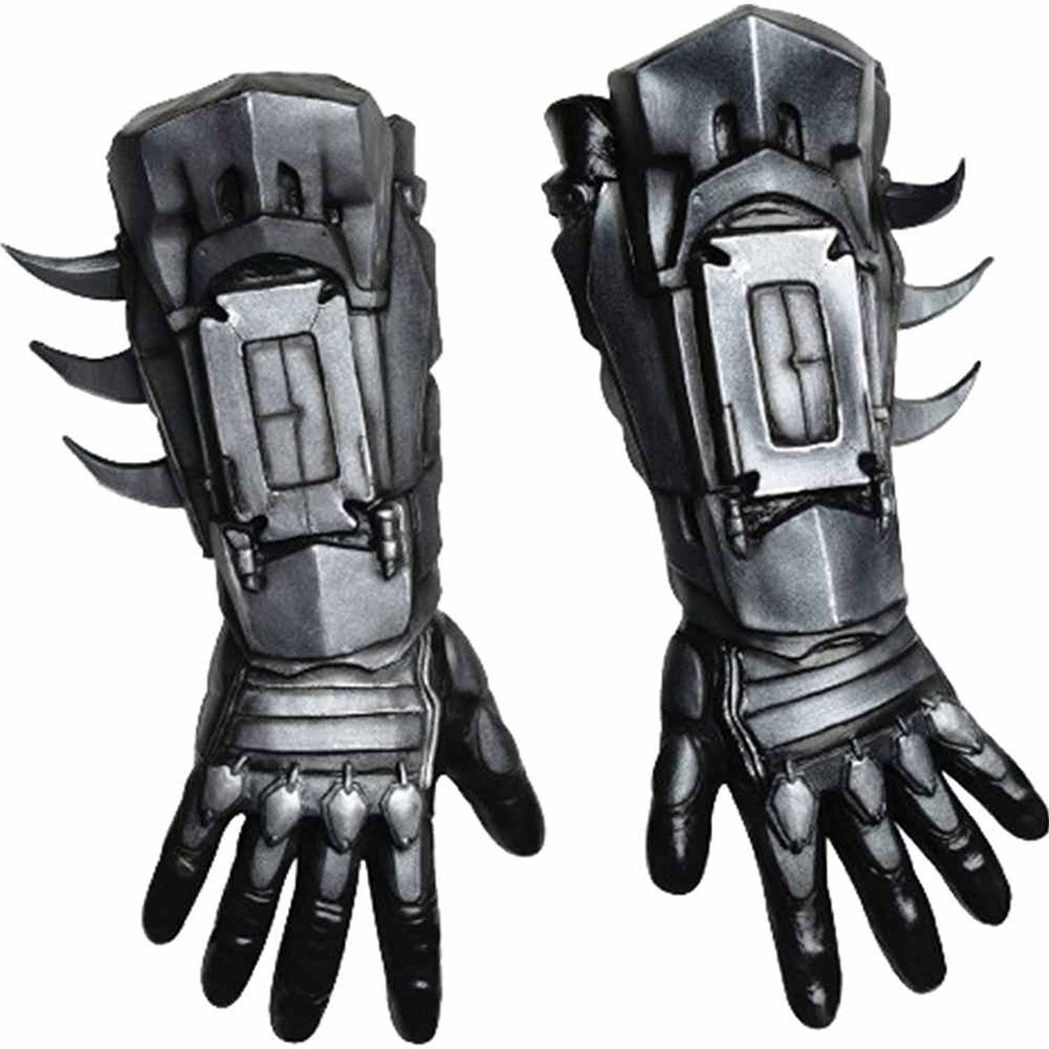 Mens sizes in gloves - Amazon Com Rubie S Costume Men S Arkham City Deluxe Batman Gloves Black One Size Clothing