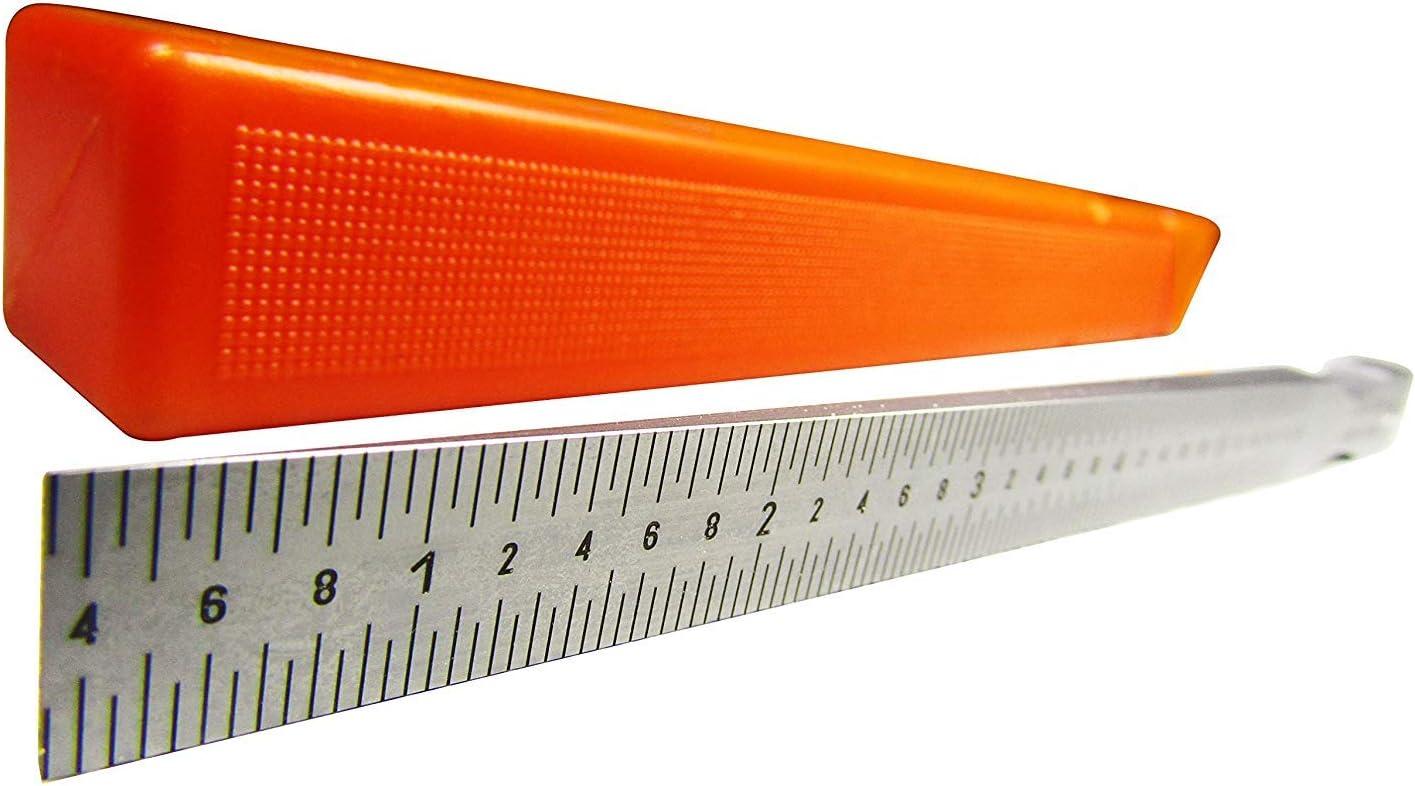 Amazon.com: Gap Gage Feeler Gauge Gap Ruler 0.016-0.236 in ...