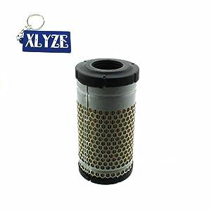 XLYZE Filtro de aire para Kubota 6C060-99410 B2400 B2410 B2630 B2710 B2910 B3030 B7300 B7400 B7410 B7500 B7510 B7610 B7800