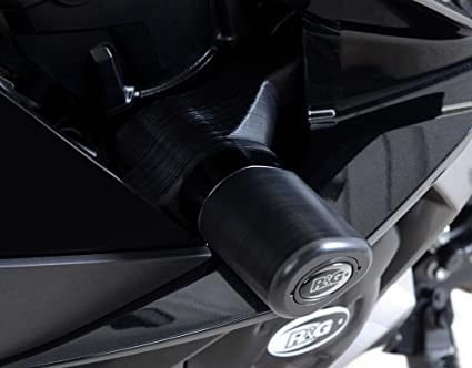 Amazon.com: R&G Aero Style Frame Sliders For Kawasaki Ninja ...