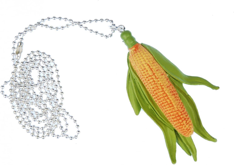 Miniblings Corn Necklace 80cm Corncobs Vegetable Food Landscape Farm Popcorn