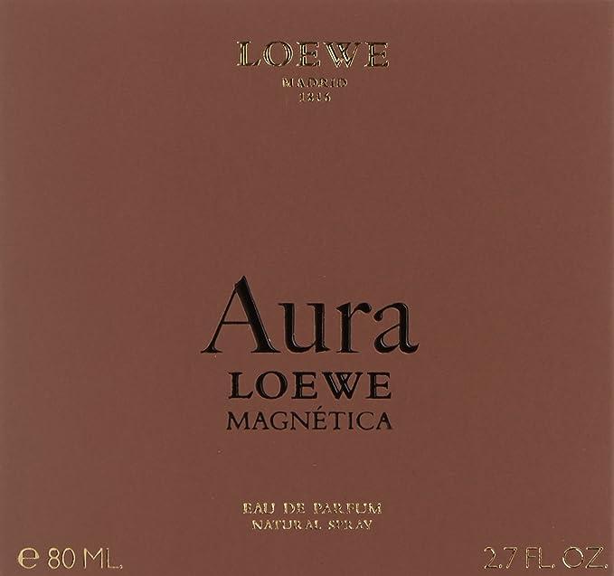 Loewe Aura Magnetica Agua de Perfume - 80 ml: Amazon.es: Belleza