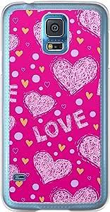 Loud Universe Samsung Galaxy S5 Love Valentine Printing Files A Valentine 170 Printed Transparent Edge Case - Pink