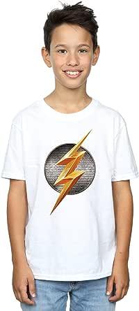 DC Comics niños Justice League Movie Flash Emblem Camiseta