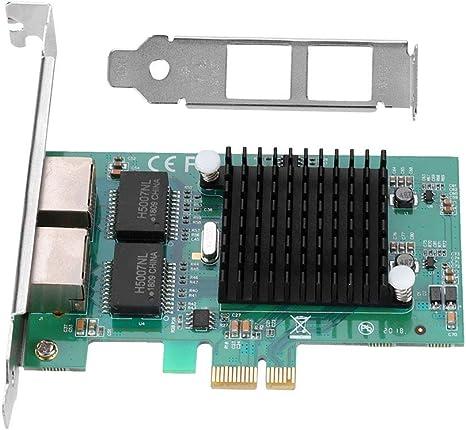 2 Ports Intel 82575 Gigabit Ethernet PCI-E Desktop Server Adapter Network Card