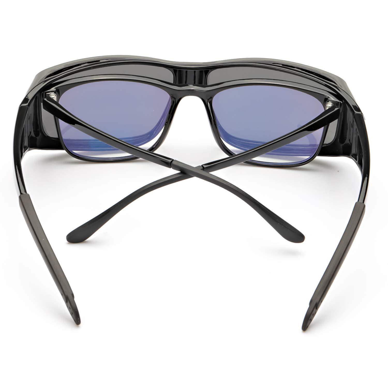 Amazon.com: LVIOE Gafas de sol envolvente, lentes ...