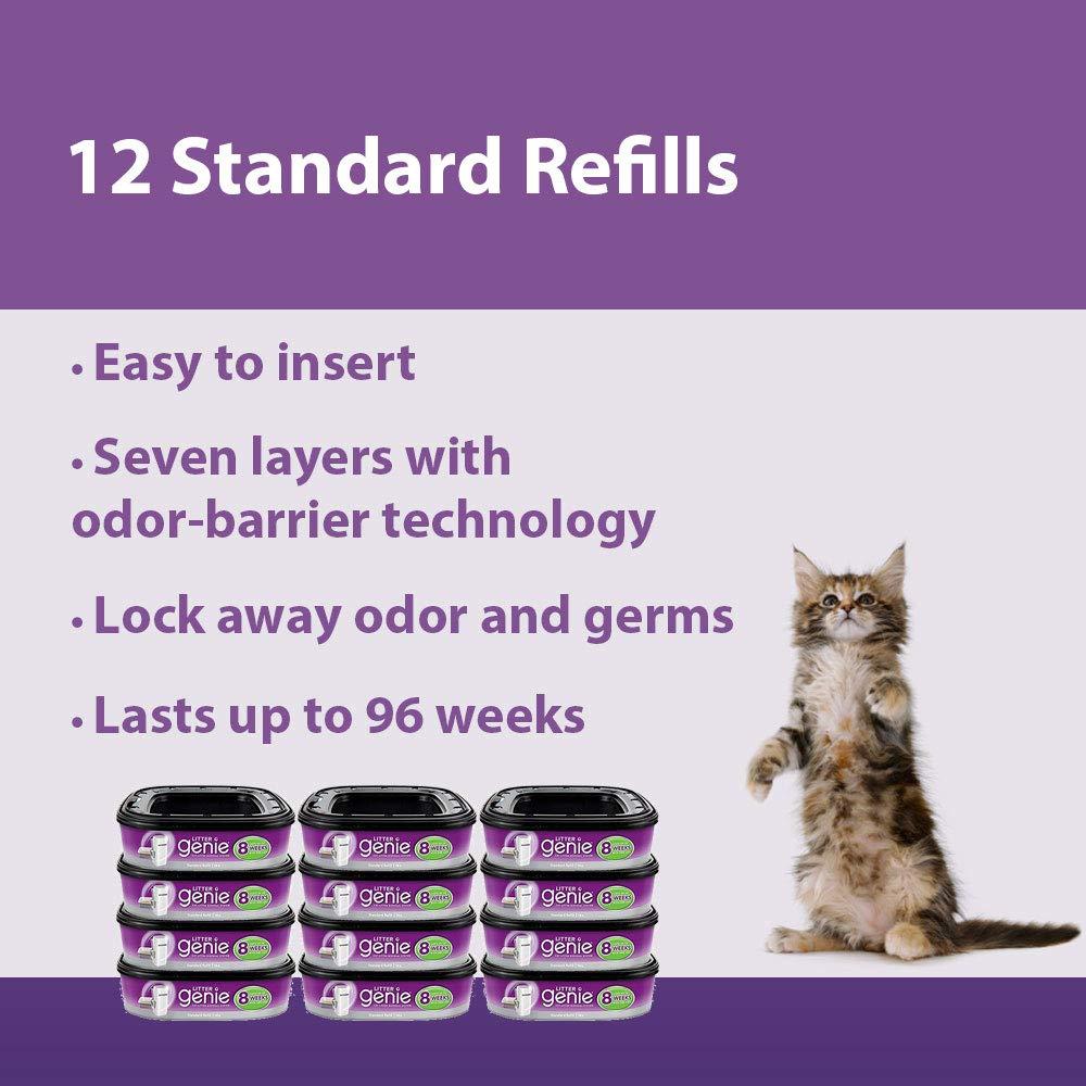 Litter Genie Ultimate Cat Litter Disposal System Refills
