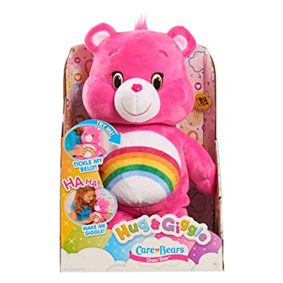 Care Bears Hug & Giggle Feature Cheer Plush: Toys & Games