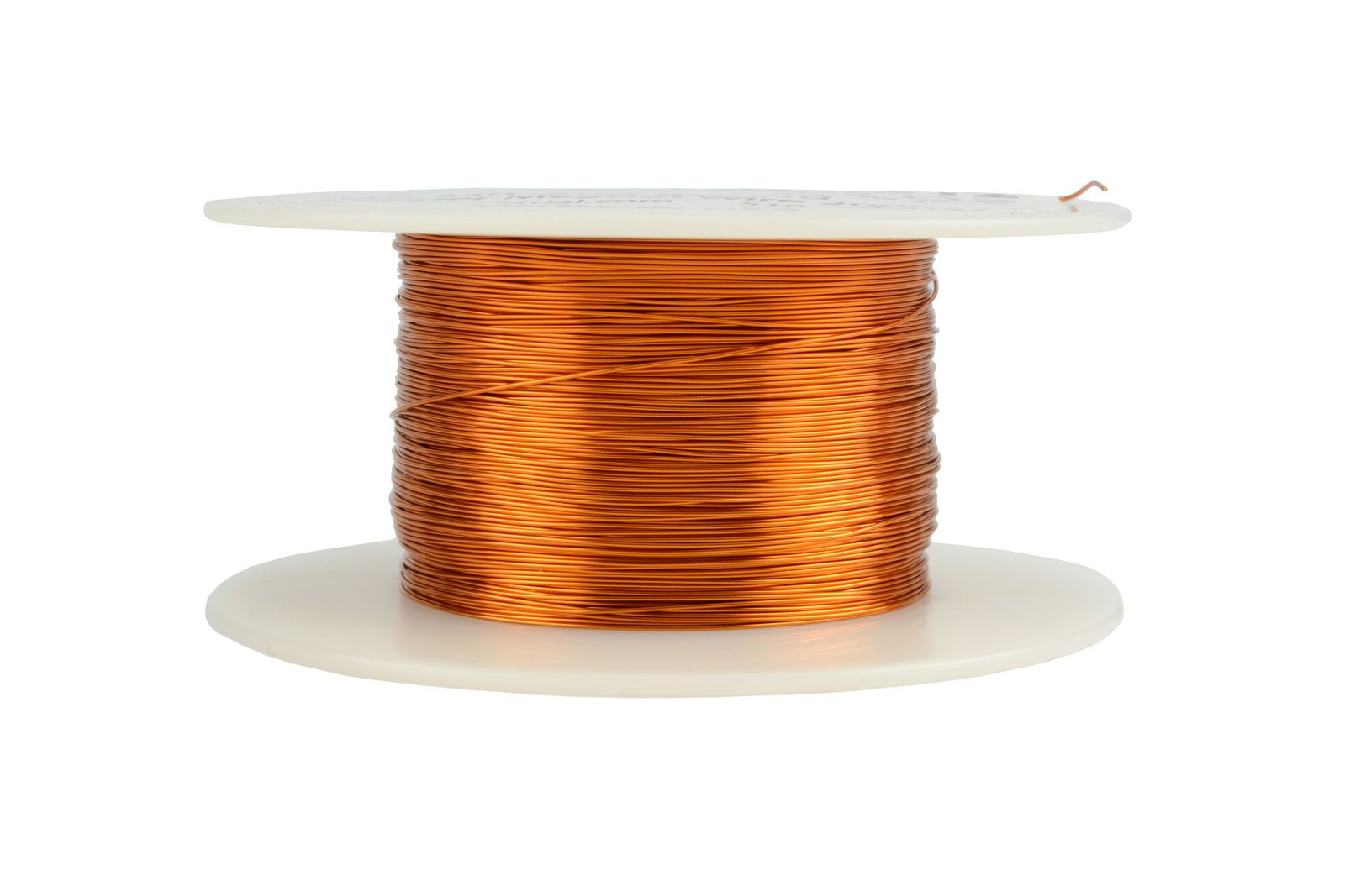 TEMCo 28 AWG Copper Magnet Wire - 4 oz 497 ft