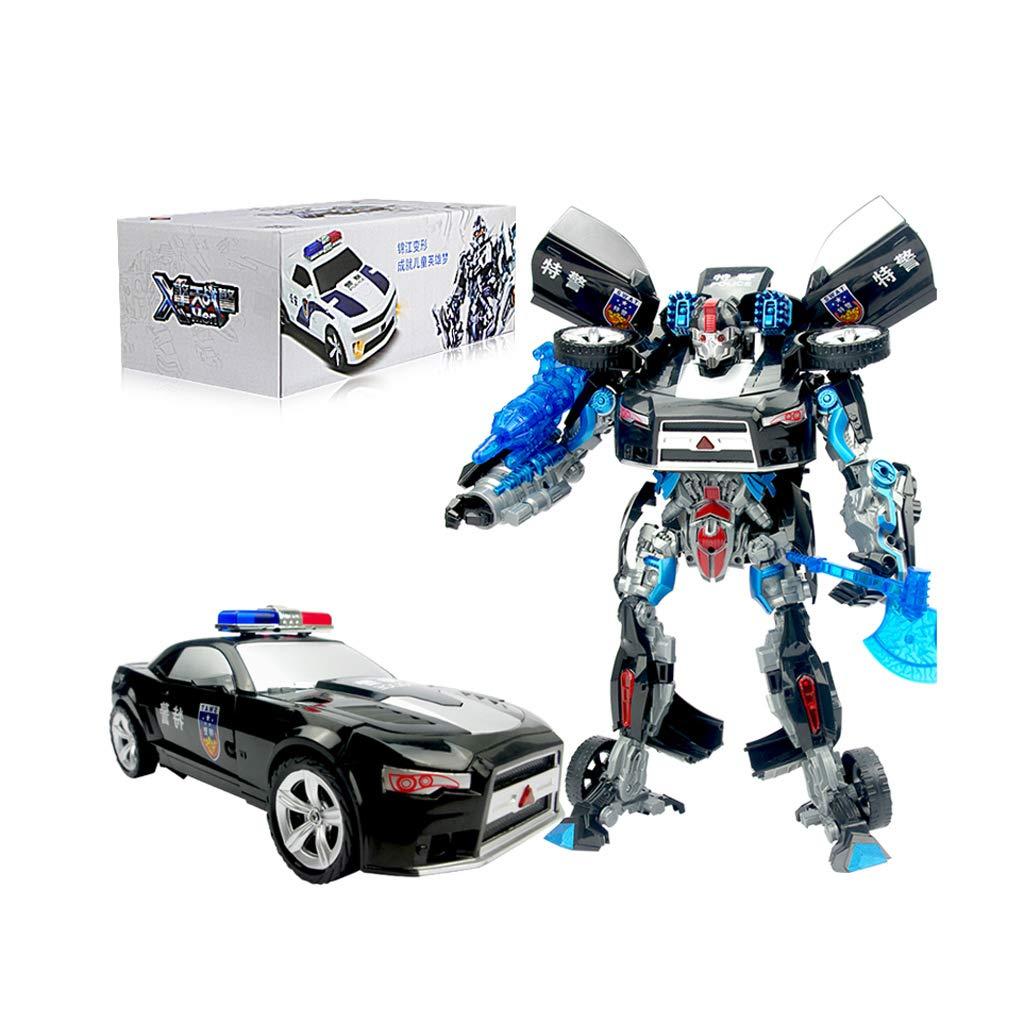 grandes ofertas Yingjianjun Robot del del del héroe de Rescate, Juguete de deformación, Modelo de Robot de deformación Versión en versión Robusta Vehículo Infantil Modelo de Robot Grande (Style   2)  promociones de descuento