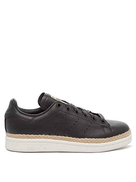 adidas Stan Smith New Bold W, Scarpe da Fitness Donna, Nero Negbas/Casbla