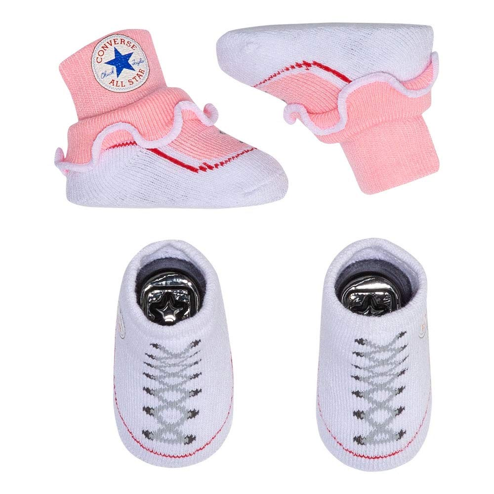 6182ced602aef Converse Baby Booties Set for Infant Boys and Girls (0-6 Months)
