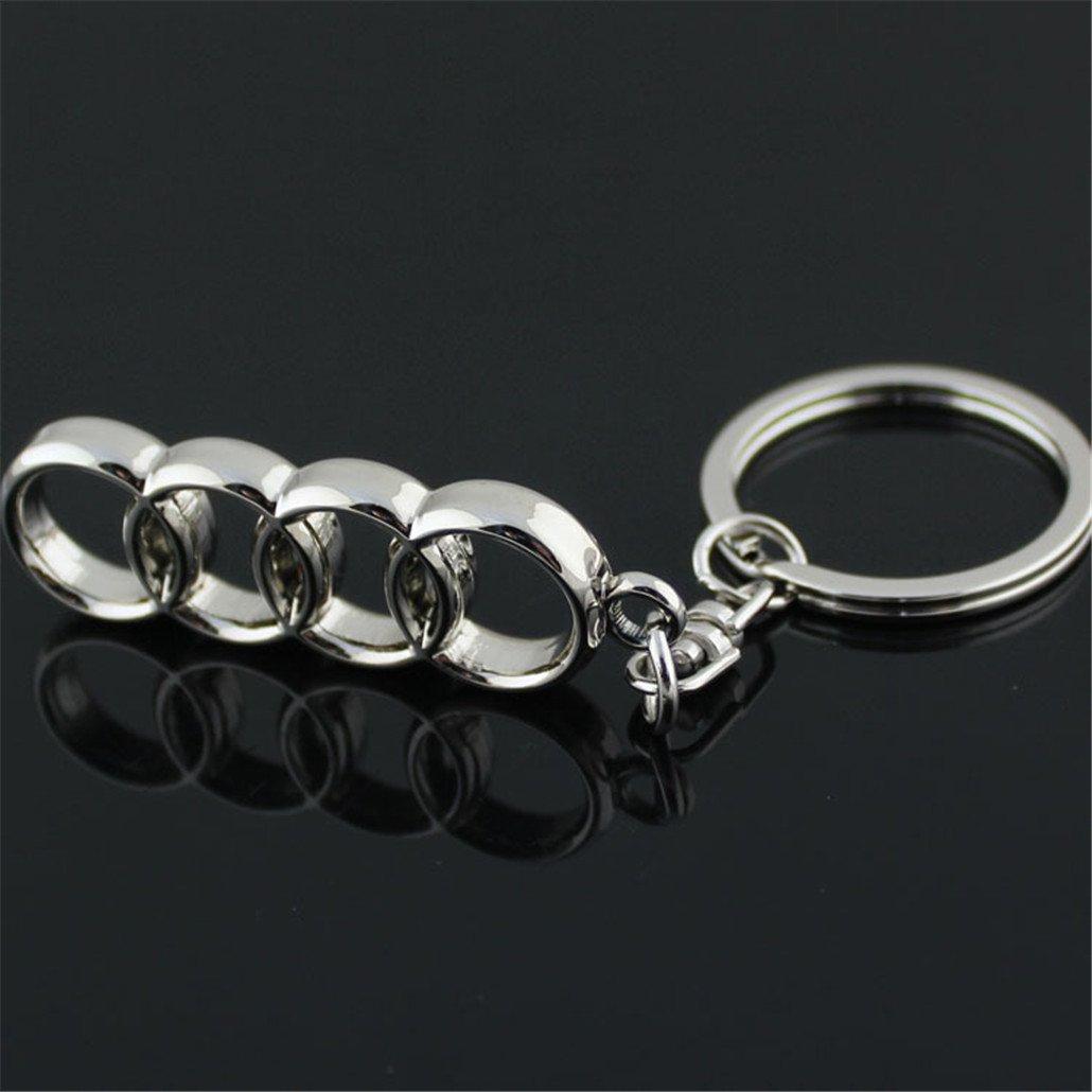 3D Car Key Chain Audi Car Logo Key Chains Gift Crafts Dreamtao