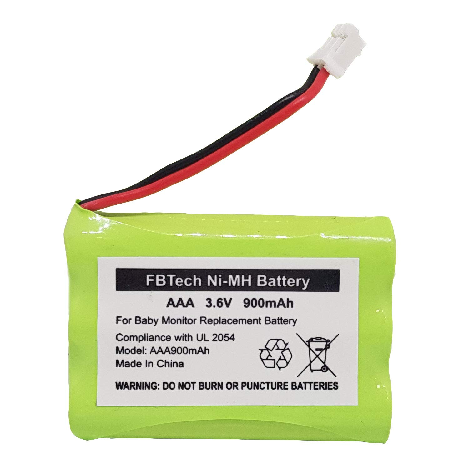 for Summer Infant Baby Monitor Replacement Battery, Compatible with Summer Infant in View 28650 Wide View 29000 29000A Clear Sight 29040 Sure Sight 29030,29890, 29600 Parent Handheld 3.6V 900mA