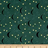 Art Gallery Fabrics Art Gallery Lambkin Keeping Watch Fabric by the Yard, Dim