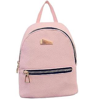 LuckES mochila bandolera señoras/las mujeres de doble bolsa de viaje de la universidad del