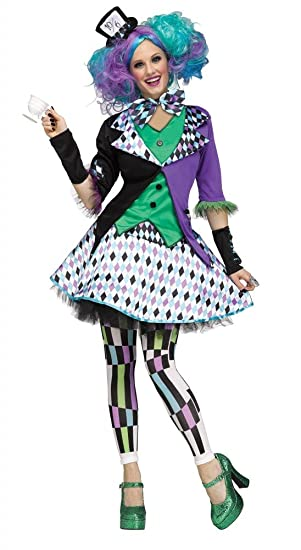 shoperama Mad Hatter Deluxe Disfraz para Mujer Y Adolescente Alicia en el  país de Las Maravillas f56444de623