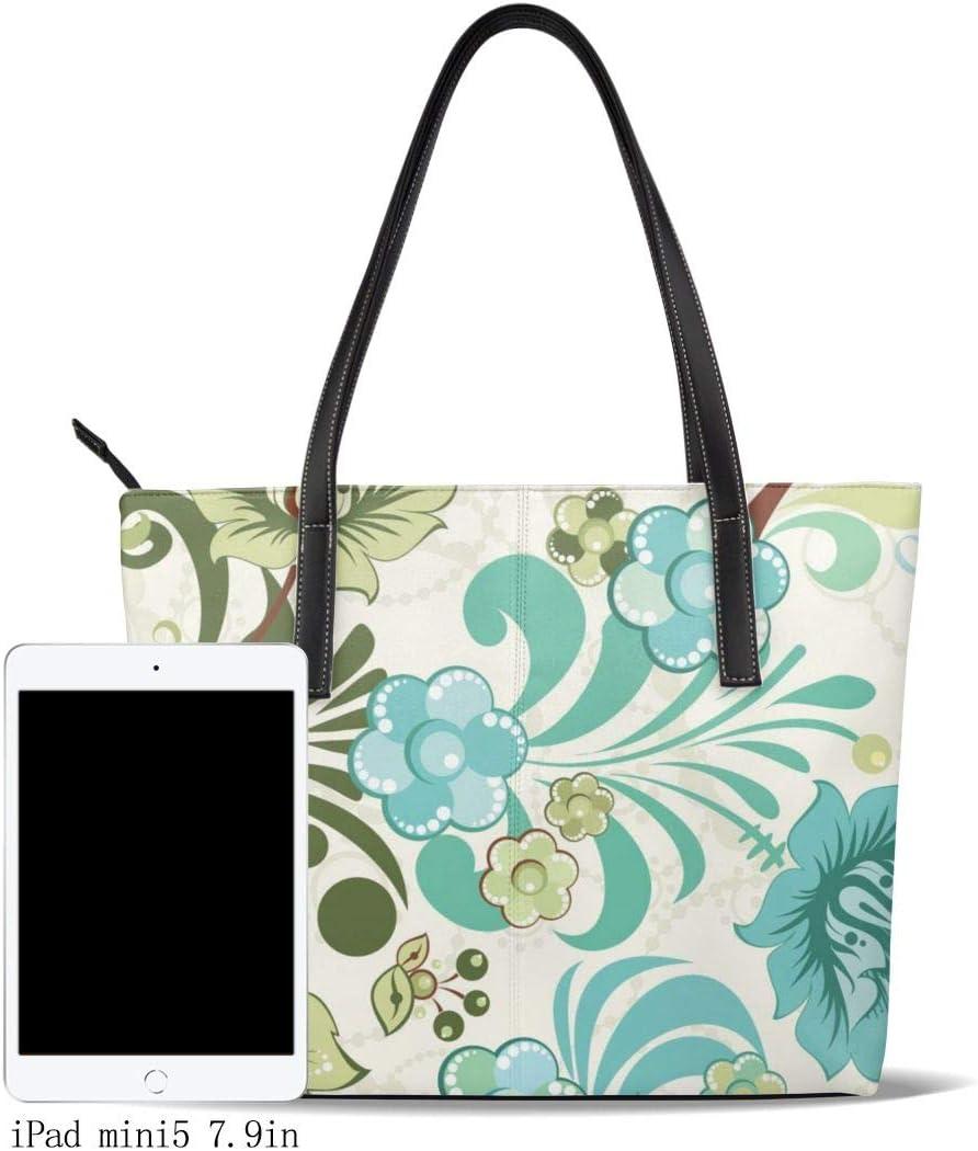 DEZIRO Funny White Dogs Love Black Pattern Handbag woman Tote Bag
