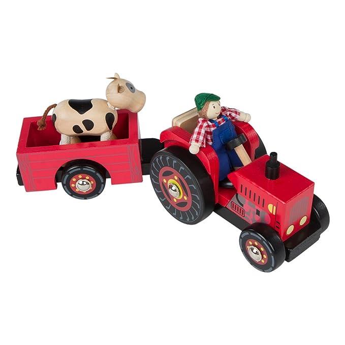 Cm43621 De Madera 33 Tractor Colorbaby OyNwnm8v0