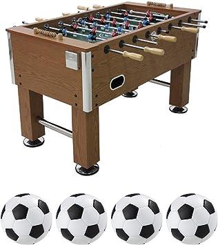 Fútbol de Mesa Grande Futbolín de Madera, Profesional para Competiciones Individuales o Juegos de Grupo con