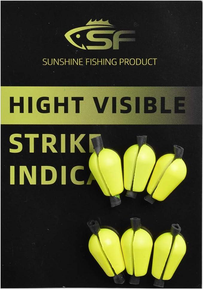 5 Color Fly-Fishing Bobber Airlock Strike Indicator Float Fly Float Bobber