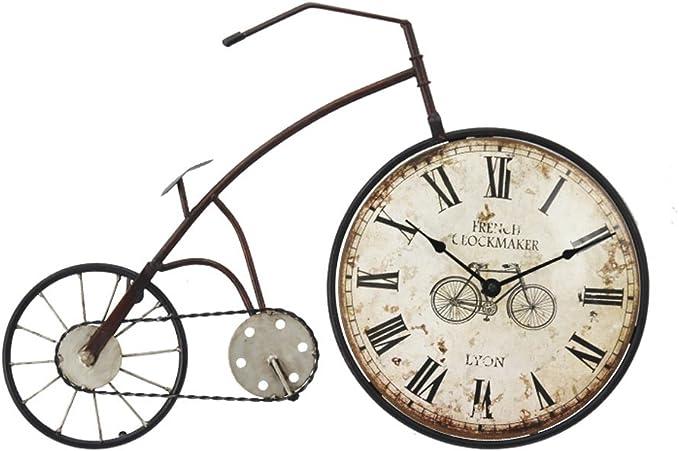 YSNUK Cuelga el Reloj Adorno De Reloj De Bicicleta con Números ...