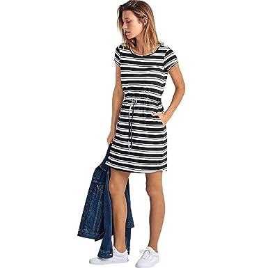 de60b64e838 Ellos Women s Plus Size Knit Drawstring Dress at Amazon Women s ...
